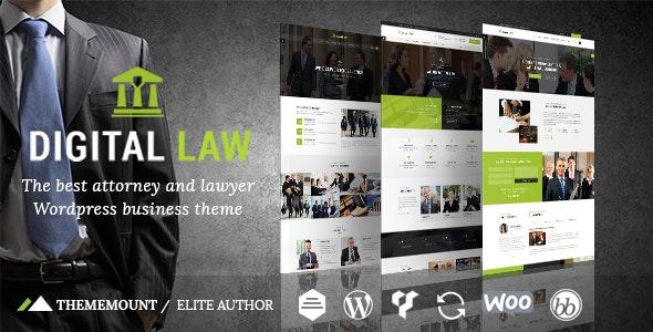 Digital Law v8.0 — Attorney & Legal Advisor WordPress Theme