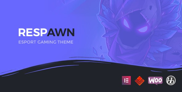 Respawn v1.1 — Esports Gaming WordPress Theme