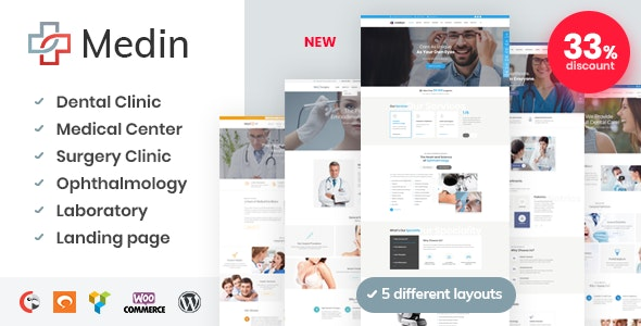 Medin v1.4 — Medical Center WordPress Theme