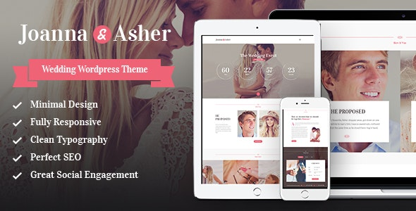 Wedding Day v1.5.0 — Birthday, Marriage & Event WordPress Theme