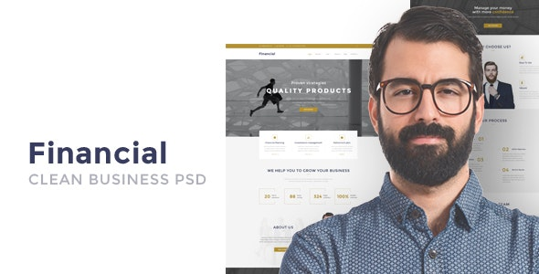 Financial v1.0 — Clean Business WordPress Theme