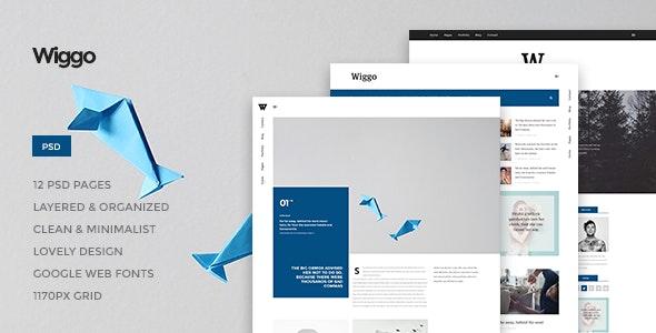 Wiggo v1.0 — Multi-Concept HTML Template