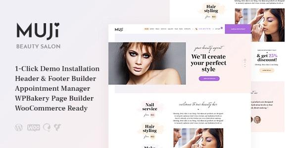 Muji v1.0.1 — Beauty Shop & Spa Salon WordPress Theme