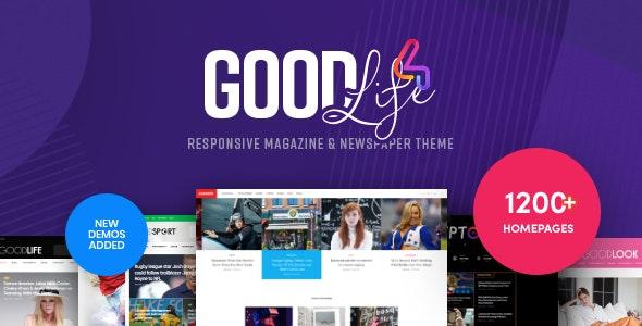 GoodLife v4.1.6.1 — Responsive Magazine Theme