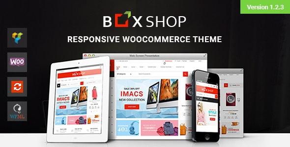 BoxShop v1.2.3 — Responsive WooCommerce WordPress Theme