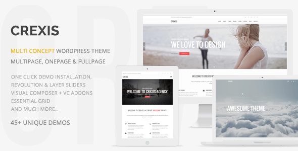Crexis v3.1.5 — Responsive Multi-Purpose WordPress Theme