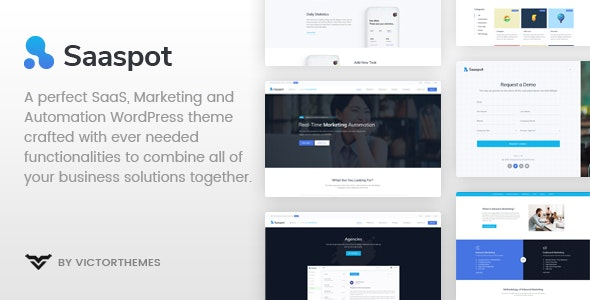 SaaSpot v1.1 — SaaS Marketing Automation WordPress Theme
