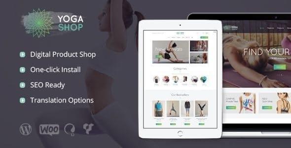 Yoga Shop v1.1 — A Modern Sport Clothing & Equipment Store WordPress Theme