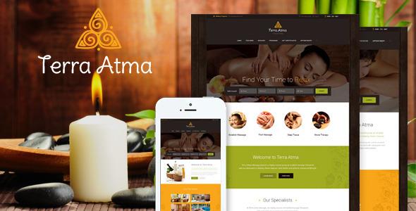 Terra Atma v1.9 — Spa & Massage Salon WordPress Theme