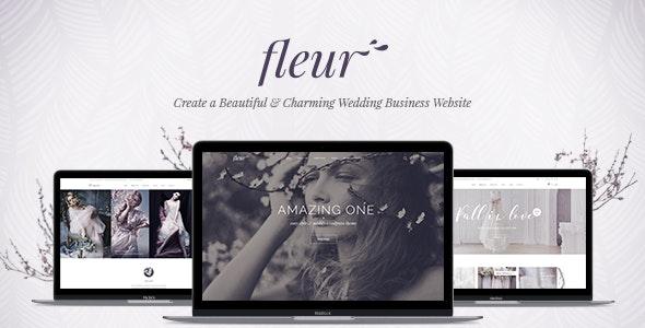 Fleur v1.9 — Wedding Theme