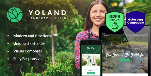 Yoland v1.2 — Landscape Design & Garden Accesories Store WordPress Theme