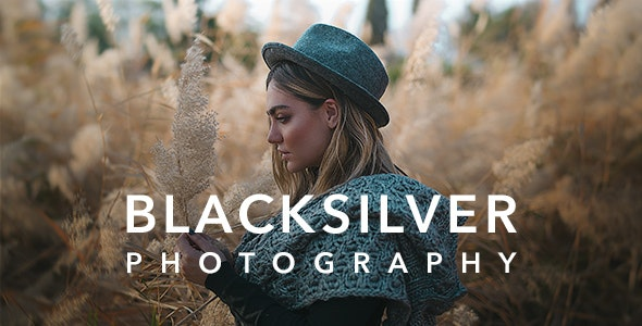 Blacksilver v1.3.4 — Photography Theme for WordPress