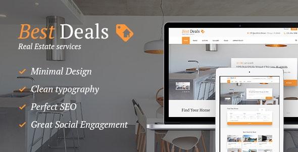 Best Deals v1.4.3 — A Modern Property Sales & Rental WordPress Theme