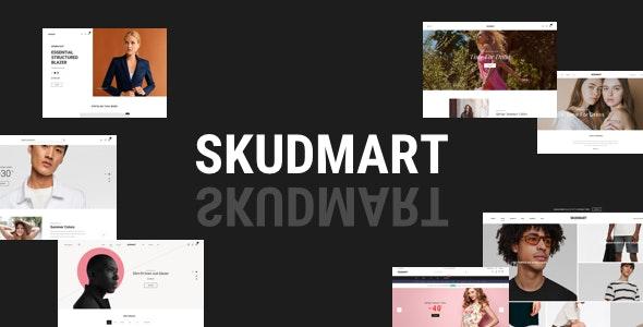 Skudmart v1.0.2 — Clean, Minimal WooCommerce Theme