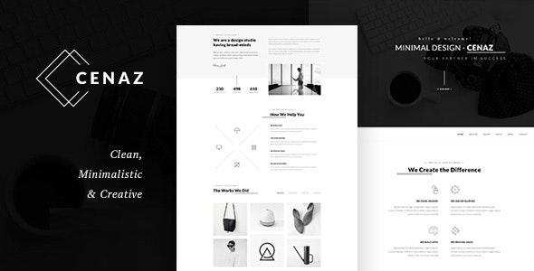 CEZAN v1.1.6 — Minimal Multipurpose WordPress Theme