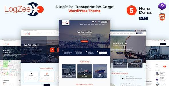 Logzee v1.0 — Logistics, Transportation, Cargo WordPress Theme