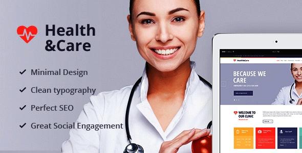 Health & Care v1.8.2 — Life Coach & Medical Doctor WordPress Theme