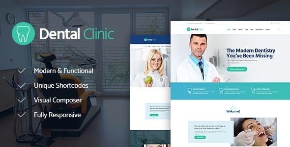 Dental Clinic v1.2.1 — Medicine & Healthcare Doctor WordPress Theme