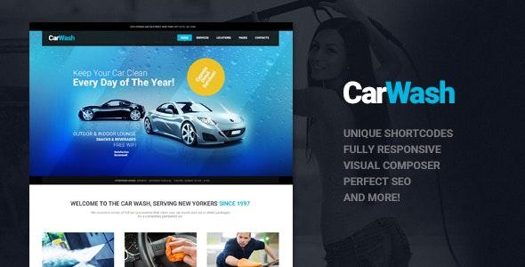 Car Wash v1.7 — Auto Mechanic & Repair Shop WordPress Theme