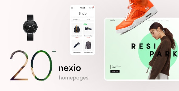 Nexio v1.0.7 — Fashion WooCommerce Theme + RTL