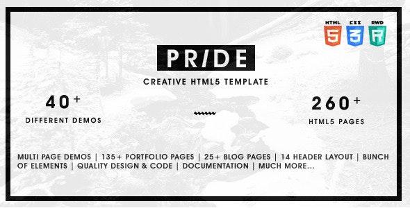 Pride v1.5.0 — Multipurpose HTML5 Template