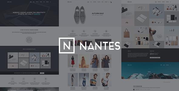 Nantes v1.74 — Creative Ecommerce & Corporate Theme