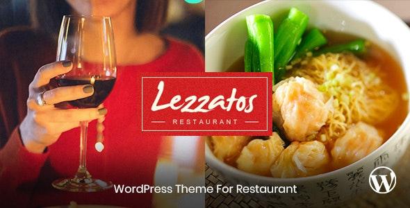 Lezzatos v1.3.0 — Restaurant WordPress Theme