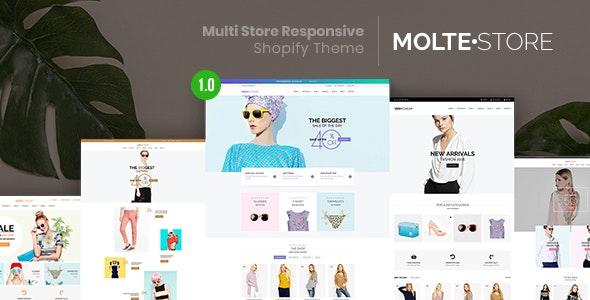 MolteStore v1.0 — Multi Store Responsive Shopify Theme