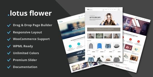 Lotus Flower v1.104 — Flexible Multi-Purpose Shop Theme