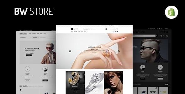 BW Store v1.0.0 — Multipurpose Responsive Shopify Theme