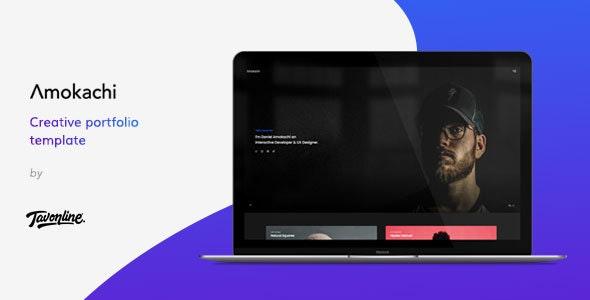 Amokachi v1.0 — Creative Portfolio HTML Template