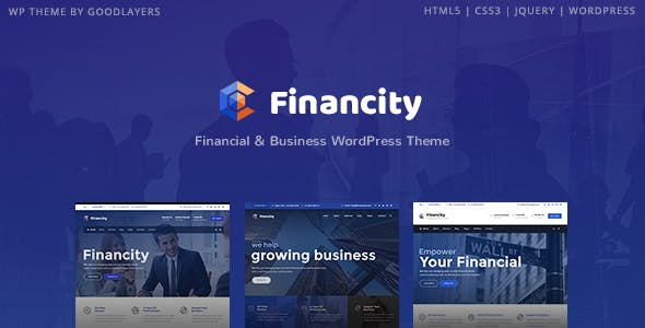 Financity v1.2.3 — Business / Financial / Finance WordPress Theme