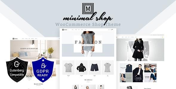 Minimal Shop v1.6 — WooCommerce Theme