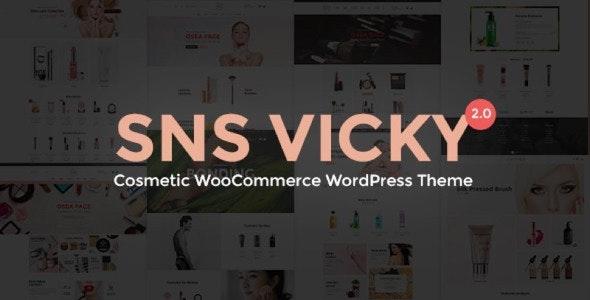 SNS Vicky v2.7 — Cosmetic WooCommerce WordPress Theme
