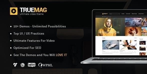 True Mag v4.3.1 — WordPress Theme for Video and Magazine