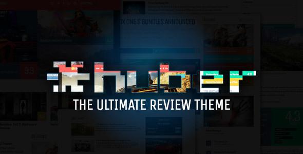 Huber v2.23 — Multi-Purpose Review Theme