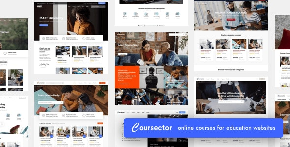 Coursector v1.4.1 — LMS Education WordPress