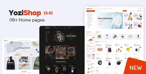 Yozi v2.0.17 — Multipurpose Electronics WooCommerce Theme