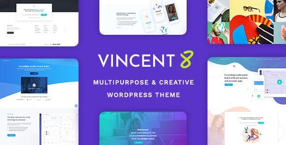 Vincent Eight v1.3 — Responsive Multipurpose WordPress Theme