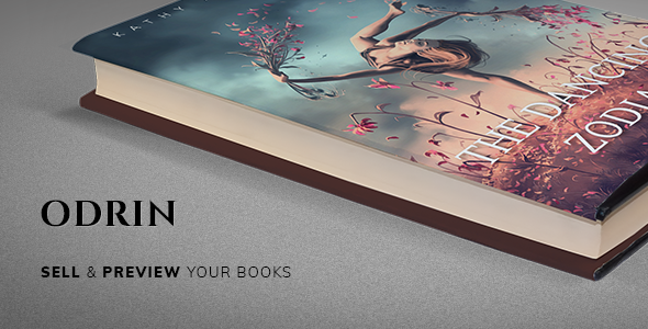 Odrin v1.2.8 — Book Selling WordPress Theme for Writers and Authors
