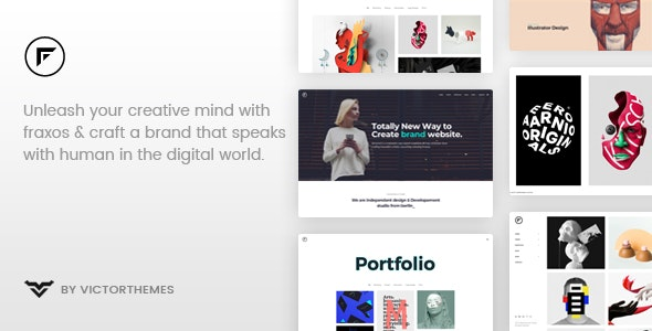Fraxos v1.7.1 — Creative Portfolio WordPress Theme