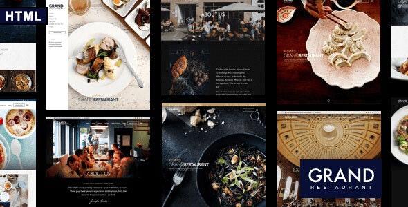 Grand Restaurant v1.0 — HTML Template