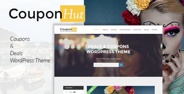 CouponHut v3.0.1 — Coupons and Deals WordPress Theme