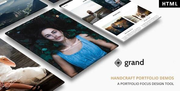 Grand Portfolio v1.0 — HTML Template