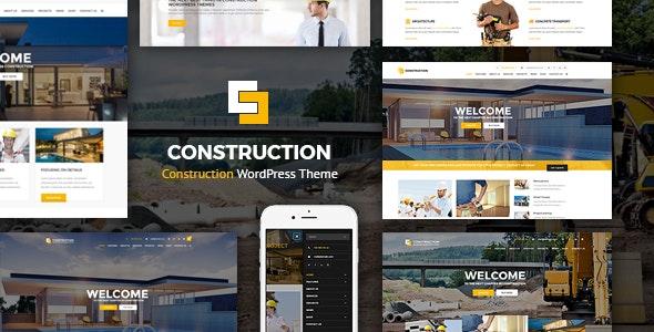Construction v1.2.7 — WordPress Theme