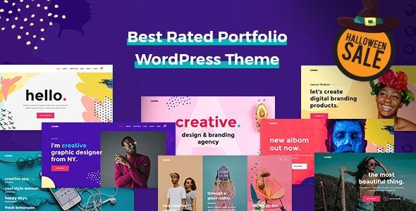 Leedo v1.1.8 — Modern, Colorful & Creative Portfolio WordPress Theme