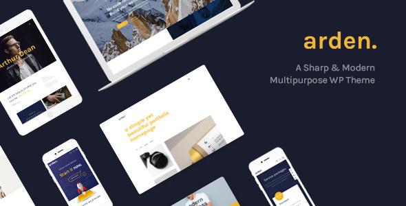 Arden v2.2.0 — A Sharp & Modern Multipurpose Theme
