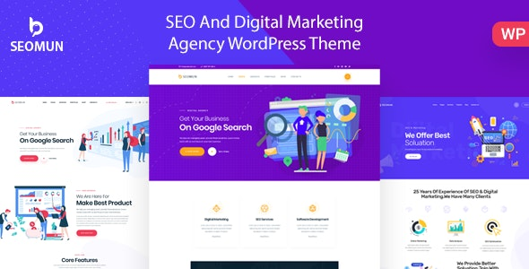 Seomun v1.0.2 — Digital Agency & Marketing WordPress
