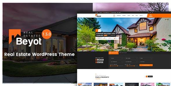 BEYOT v1.5.1 — WordPress Real Estate Theme