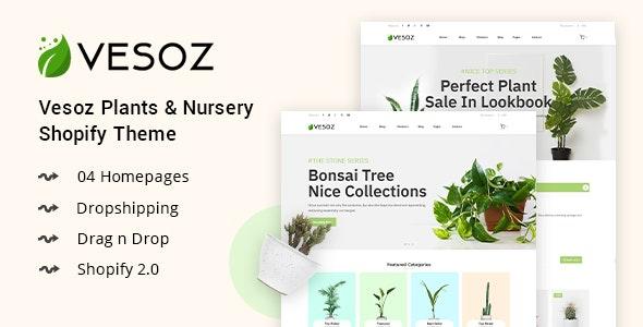 Vesoz v1.0.0 — Plants And Nursery Shopify Theme